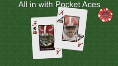 All in with Pocket Aces (Green Fabric)